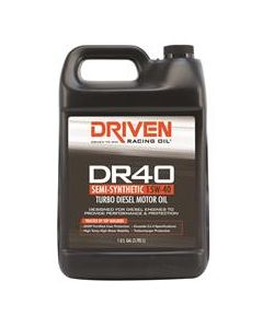 Driven Racing Oil 05408 DR40 Turbo Diesel High Performance Motor Oil