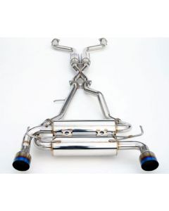 Invidia 350z Gemini Single Layer Titanium Tips Cat-Back Exhaust System