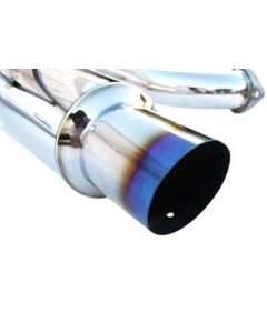 Titanium Tip Cat-Back Exhaust (Single Exit)