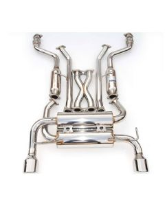 Invidia Rolled Stainless Steel Tip Cat-Back Exhaust