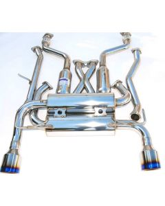 Invidia Rolled Titanium Tip Cat-Back Exhaust