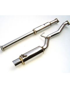 Invidia CAT-BACK EXHAUST, N1 Stainless Steel Tip Cat-Back Exhaust