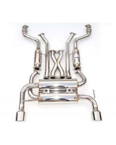 Invidia CAT-BACK EXHAUST, GEMINI Rolled Stainless Steel Tip Cat-Back Exhaust (TIP ONLY)