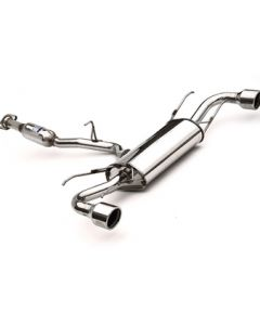 Invidia CAT-BACK EXHAUST, Q300 Rolled Stainless Steel Tip Cat-Back Exhaust
