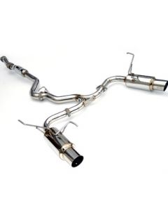 Invidia CAT-BACK EXHAUST, N1 Stainless Steel Tip Cat-Back Exhaust (Twin Outlet)