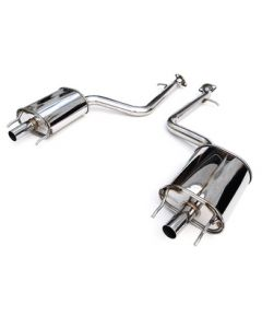 Invidia CAT-BACK EXHAUST, Q300 Axle-Back Exhaust (No Mid-Pipe)