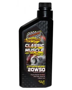 Champion Brands 4124H-6 Champion Classic & Muscle High Performance Synthetic Blend Motor Oil