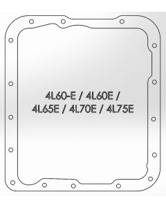 aFe Transmission Pan (Black w/ Machined Fins) GM Trucks 99-16 (4L60-E/4L60E/4L65E/4L70E/4L75E)