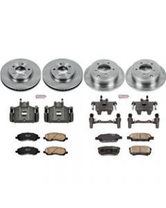 Power Stop KCOE4017A Autospecialty Stock Replacement Brake Kits with Calipers