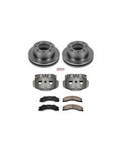 Power Stop KCOE5559 Autospecialty Stock Replacement Brake Kits with Calipers