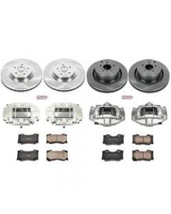 Power Stop KCOE5823 Autospecialty Stock Replacement Brake Kits with Calipers