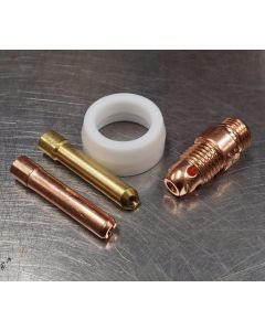 Stubby Collet Body Conversion Kit 17,18 and 26 torch NON CK