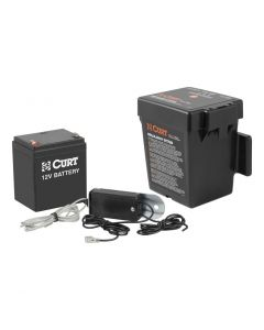 Curt Push-to-Test Breakaway Kit w/Top-Load Battery