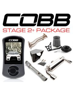 COBB Tuning Stage 2+ Power Package Oval Tip Exhaust