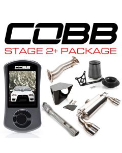 COBB Tuning Stage 2+ Power Package Quad Tip Exhaust