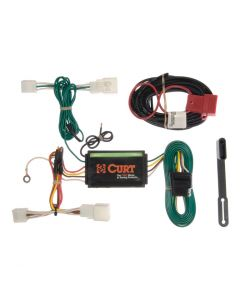 Curt 09-16 Lexus IS350 Custom Wiring Harness (4-Way Flat Output)