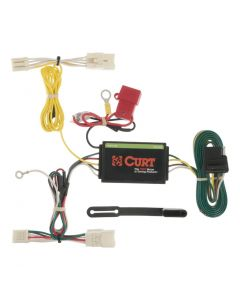 Curt 12-17 Toyota Prius V Custom Wiring Harness (4-Way Flat Output)