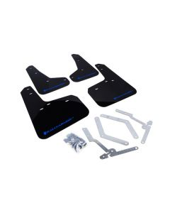 Rally Armor 2012+ Ford Focus, ST, RS Mud Flaps - BLK/BL