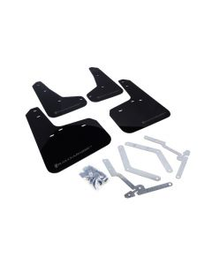 Rally Armor 2012+ Ford Focus, ST, RS Mud Flaps - BLK/GREY