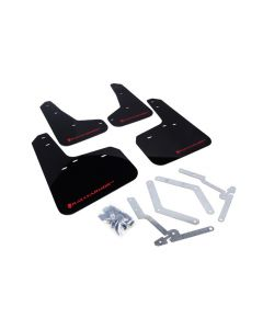 Rally Armor 2012+ Focus, ST, RS Mud Flaps - BLK/RD