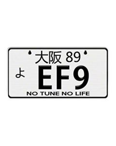 NRG Innovations JDM Mini License Plate - EF9