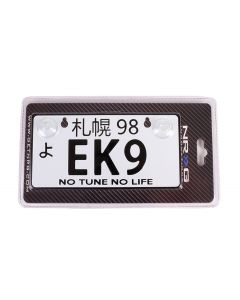 NRG Innovations JDM Mini License Plate - EK9
