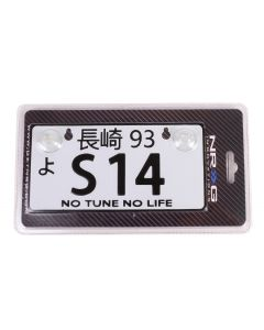 NRG Innovations JDM Mini License Plate - S14