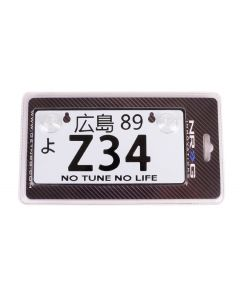 NRG Innovations JDM Mini License Plate - Z34