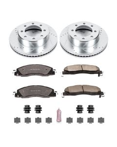 Power Stop Z36 Truck and Tow Performance Brake Kits with Calipers KC5411-36