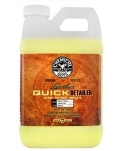 Chemical Guys Leather Quick Detailer Matte Finish Leather Care Spray (64 Fl. Oz.)