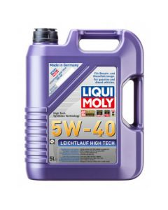 LIQUI MOLY 20L Leichtlauf (Low Friction) High Tech Motor Oil 5W-40