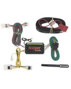 Curt 12-18 Nissan NV1500 Custom Wiring Harness (4-Way Flat Output)