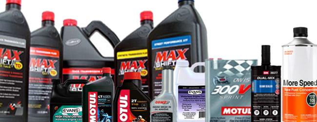 Oils, Fluids & Sealer
