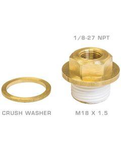 Glow Shift Oil Galley Plug Adapter for Subaru EJ Engines