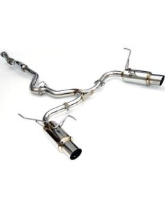 Invidia HARDWARE ONLY FOR CAT-BACK EXHAUST, N1 Stainless Steel Tip Cat-Back Exhaust