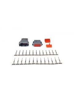 AEM DTM-Style 12-Way Connector Kit W/Male and Female Pins