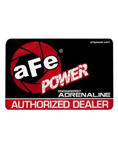 aFe Power Marketing Promotional PRM Cling Window: aFe Power Dealer (Medium)