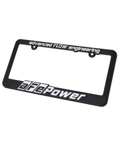 aFe Power Marketing Promotional PRM Frame License Plate: aFe Power