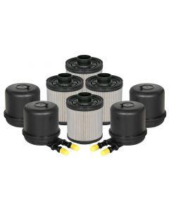 aFe Pro GUARD D2 Fuel Filter 11-17 Ford Diesel Trucks V8 6.7L (td) (4 Pack)
