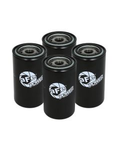 aFe ProGuard D2 Fluid Filters Oil F/F OIL 89-16 Dodge Diesel Trucks L6-5.9L/6.7L (td) (4 Pack)