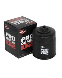 aFe ProGuard D2 Oil Filter w/ 3/8in Ratchet Drive to Remove Filter 07-11 Jeep Wrangler JK V6-3.8L