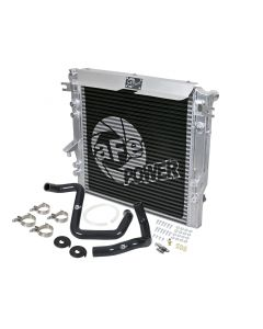 aFe BladeRunner GT Series Bar and Plate Radiator w/ Black Hoses 12-18 Jeep Wrangler (JK) V6 3.6L