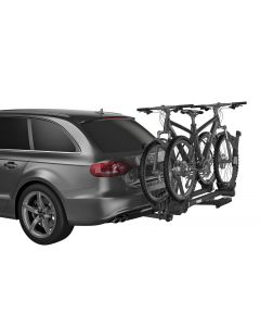 Thule T2 Pro XT 2 - Platform Hitch-Mount Bike Rack (2in. Hitch Recv/2-4 Bikes w/Add-On) - Silver/Blk