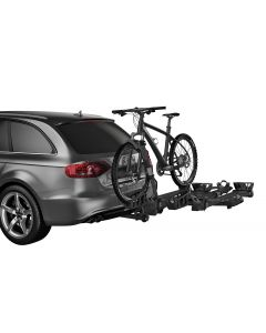 Thule T2 Pro XT 2 Bike Rack Add-On (Allows 4 Bike Capacity/2in. Receivers Only) - Silver/Black