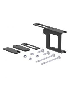 Curt Easy-Mount Bracket for 4 or 5-Way Flat (1-1/4in Receiver Packaged)
