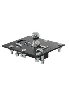 Curt 90-93 Ford F-250 Over-Bed Folding Ball Gooseneck Hitch