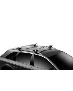 Thule WingBar Evo 150 Load Bars for Evo Roof Rack System (2 Pack / 60in.) - Black