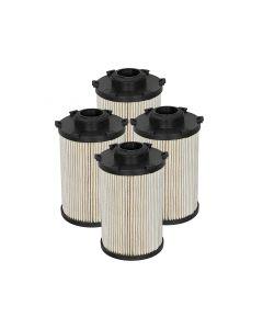 aFe Pro GUARD D2 Fuel Filter 07.5-09 Dodge RAM Diesel Trucks L6 6.7L (td) (4 Pack)