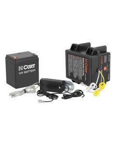 Curt Push-to-Test Breakaway Kit w/Side-Load Battery