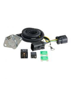 Curt 97-04 Ford F-150 Custom Wiring Harness (6-Way Round Output)